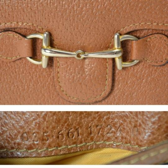 Gucci [Authentic] GUCCI Leather 035 661 Fold wallet Image 5