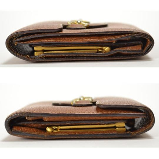 Gucci [Authentic] GUCCI Leather 035 661 Fold wallet Image 6