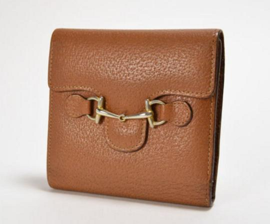 Gucci [Authentic] GUCCI Leather 035 661 Fold wallet Image 7