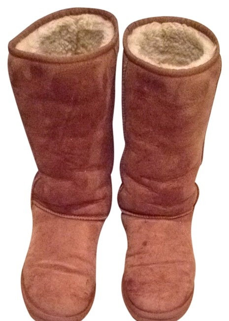 Item - Camel/ Brown Boots/Booties Size US 8 Wide (C, D)