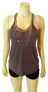Charlotte Russe P2054 Top gray, beige