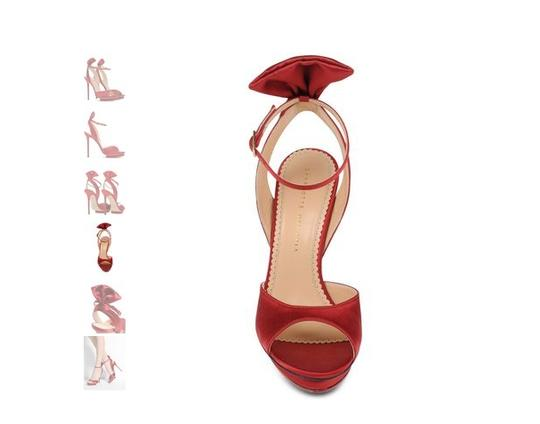 Charlotte Olympia red Sandals Image 2