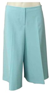 Trina Turk Culottes Preppy Bermuda Palm Beach Lilly Capri/Cropped Pants Blue