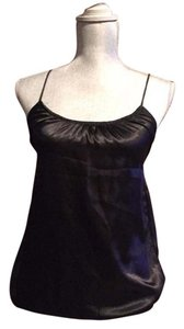 American Eagle Outfitters Silk Strappy Top black