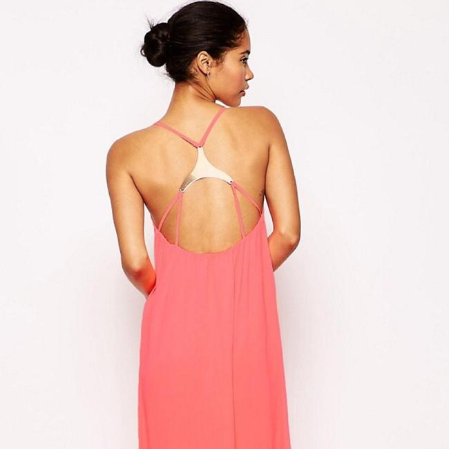Pink Maxi Dress by Oh My Love Image 2
