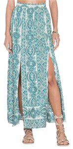 The Allflower Creative Boho Maxi Skirt Paisley Print