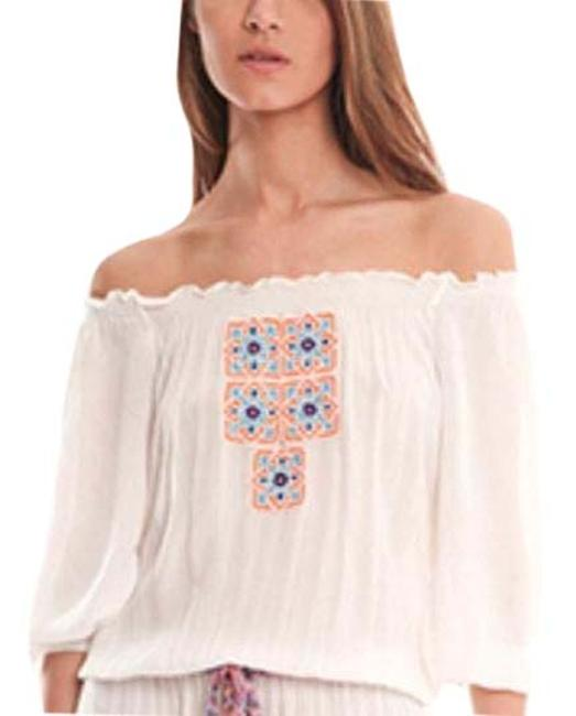 Item - Off The Shoulder White Top