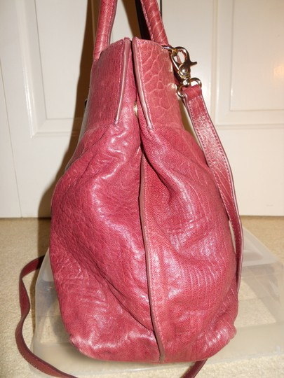 Coccinelle Leather Convertable Tote Shoulder Cross Body Bag