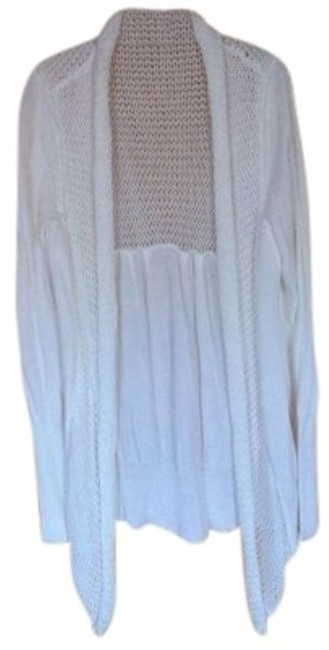 Preload https://item3.tradesy.com/images/banana-republic-white-light-summery-comfy-long-open-flyaway-knit-cardigan-size-16-xl-plus-0x-156072-0-0.jpg?width=400&height=650