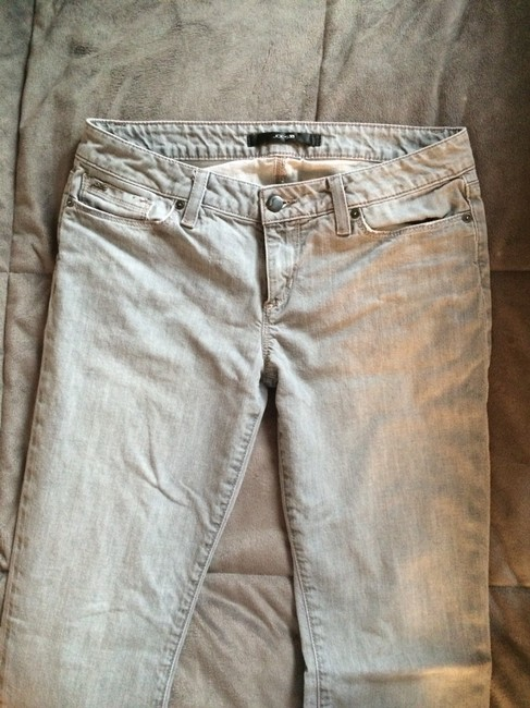 Joes Jeans Straight Leg Jeans-Light Wash
