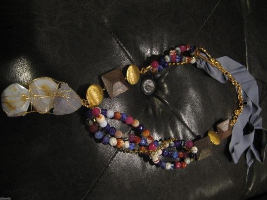 Sachin + Babi SACHIN & BABI AUTHENTIC NWT MULTI COLOR AGATE NECKLACE