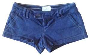 American Eagle Outfitters Mini/Short Shorts navy blue