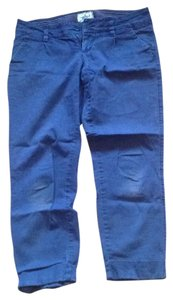 American Eagle Outfitters Straight Pants navy blue.
