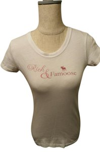 Abercrombie & Fitch Moose T Shirt Ivory