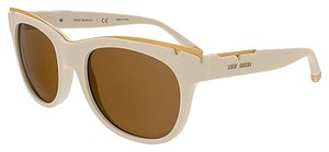 Tory Burch Tory Burch Ivory Cateye Sunglasses