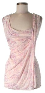 Free People Floral Drape Top Pink