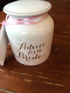 Advice Jar For Bride And Groom