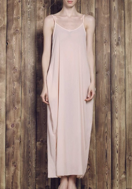 Other Solid Color Cami Maxi Dress Image 1
