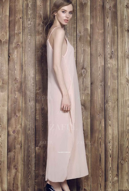 Other Solid Color Cami Maxi Dress Image 2