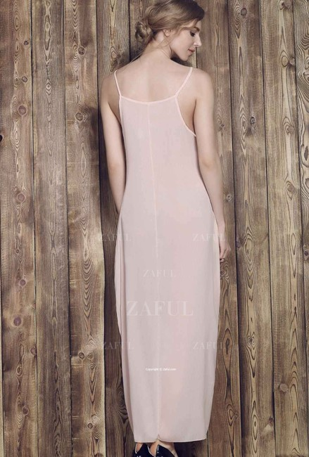 Other Solid Color Cami Maxi Dress Image 3