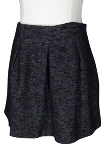 Theory Pleated Mini Skirt black