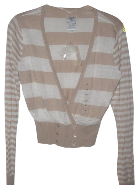 Preload https://img-static.tradesy.com/item/15610531/guess-brown-cotton-rayon-cashmere-blend-buttoned-cardigan-size-8-m-0-1-650-650.jpg