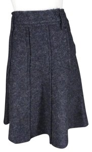 Romeo & Juliet Couture Felted Skirt charcoal gray