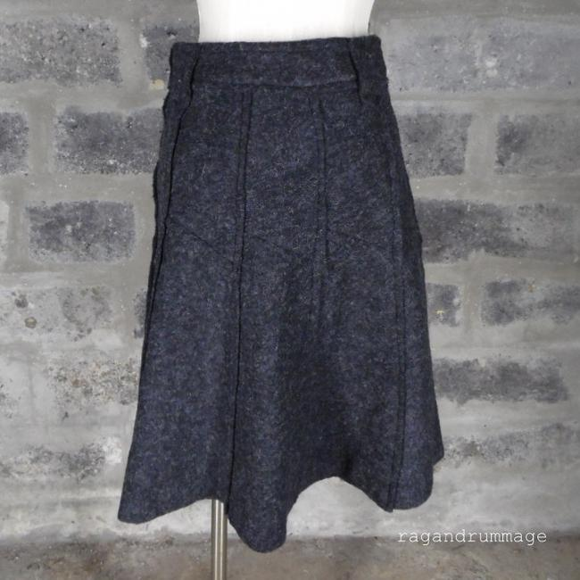 Romeo & Juliet Couture Felted Skirt charcoal gray Image 1