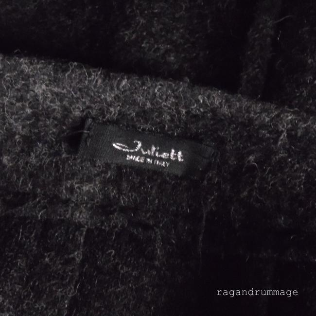 Romeo & Juliet Couture Felted Skirt charcoal gray Image 3