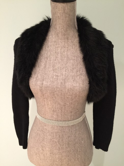 Michael by Michael Kors Shrug Faux Casual Evening Night Knit Cardigan Small Tops Shrugs Faux Fur Shrugs S Night Out Tops Night Out Shrugs Sweater
