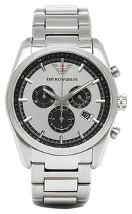 Emporio Armani Emporio Armani Stainless Steel Chronograph Mens Watch Ar6007