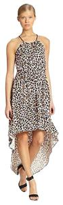 Leopard Maxi Dress by MILLY Maxi High Low Clothings
