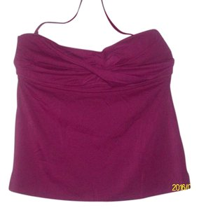 J.Crew Magenta Lightly Lined Foam Bra Top Size XL