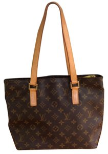 Louis Vuitton Tote in Tan/Brown