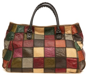 Balenciaga Sunday Patchwork Tote in Multi-toned