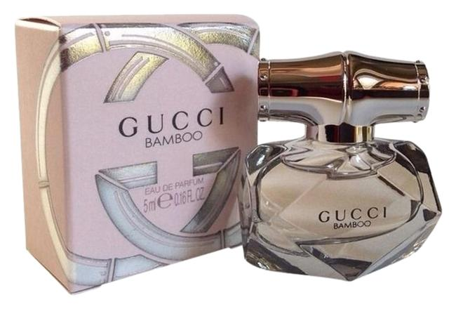Item - Light Pink & Silver Box New Bamboo Eau De Parfum Mini Collectible Bottle With Fragrance