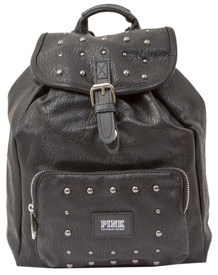 PINK Faux Leather Mini Studded Limited Edition Backpack