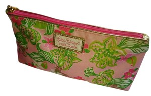 Lilly Pulitzer Lilly Pulitzer for Estee Lauder canvas make-up case