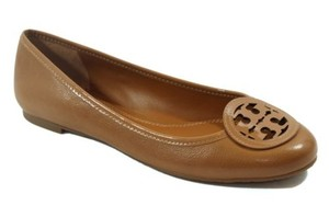 Tory Burch Louisa Tumbled Brown Flats