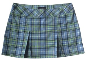 Abercrombie & Fitch Mini Skirt Blue, green and yellow