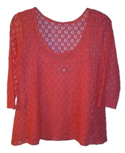 Skye's the Limit Top Coral
