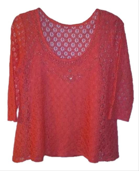Preload https://img-static.tradesy.com/item/15612157/skye-s-the-limit-coral-2-piece-blouse-size-8-m-0-1-650-650.jpg