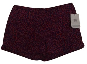 Diane von Furstenberg Mini/Short Shorts Red and purple