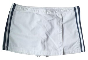 Abercrombie & Fitch Skort White with navy stripes