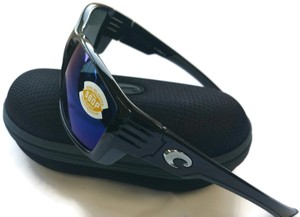 Costa Del Mar Costa Del Mar CZ11OBMP Cortez Black/Blue Lens Polarized Sunglasses