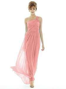 Alfred Sung Apricot D691 Formal Bridesmaid/Mob Dress Size 8 (M)