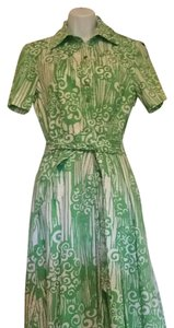 Alex Marie short dress Green and White on Tradesy