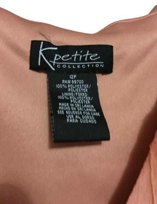 Peach Maxi Dress by K Petite Collection Image 1
