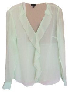 Ann Taylor Top Seafoam green