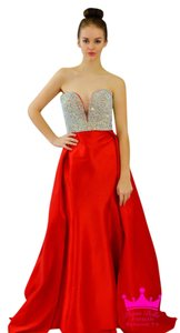 Jovani Crystal Mermaid Sweetheart Neckline Prom Pageant Dress